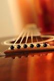 Pont en guitare Images libres de droits