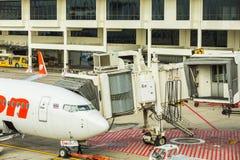 Pont en jet (ou PBB) Images libres de droits