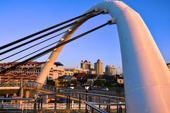 Pont en Kuala Terengganu images stock