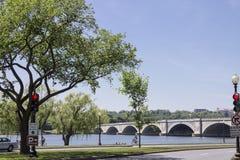 Pont en mémorial d'Arlington Images stock