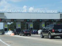 Pont en mémorial de Delaware photo libre de droits