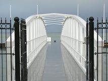 Pont en métal Photo libre de droits