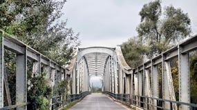 Pont en métal Photos libres de droits