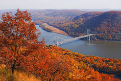 Pont en montagne d'ours de New York Photo stock