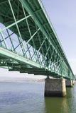 Pont en métal Photo stock