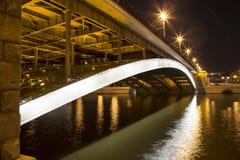 Pont en pierre de pont de Bolshoy Kamenny un plus grand, Moscou, Russie photos stock