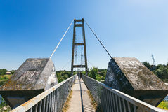 Pont en pierre piétonnier Image stock
