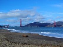 Pont en porte d'or à San Francisco image stock