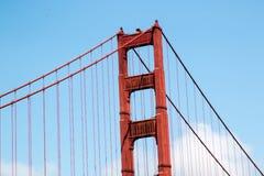 Pont en porte d'or à San Francisco Image libre de droits