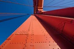 Pont en porte d'or à San Francisco, la Californie Photographie stock