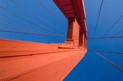 Pont en porte d'or à San Francisco, la Californie Photos stock