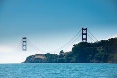Pont en porte d'or. Image libre de droits