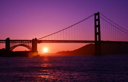 Pont en porte d'or Images stock