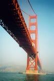 Pont en porte d'or Photo libre de droits