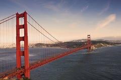 Pont en porte d'or - San Francisco Images libres de droits