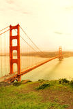 Pont en porte d'or. San Francisco Image stock