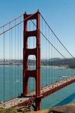 Pont en porte d'or - San Francisco photo libre de droits