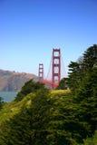 Pont en porte d'or, San Francisco Images libres de droits