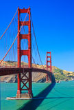 Pont en porte d'or, San Francisco Photographie stock libre de droits