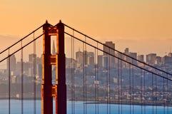 Pont en porte d'or, San Francisco Photos stock