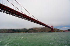 Pont en porte d'or, San Francisco Photos stock