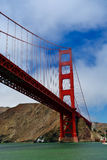 Pont en porte d'or, San Francisco Images libres de droits