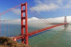 Pont en porte d'or, San Francisco, Ca, Etats-Unis Images libres de droits