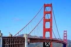 Pont en porte d'or, San Francisco, Etats-Unis Image libre de droits