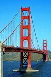 Pont en porte d'or, San Francisco, Etats-Unis Photo libre de droits