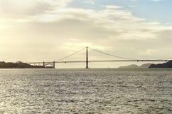 Pont en porte d'or, San Francisco, la Californie Photo stock