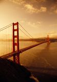 Pont en porte d'or, San Francisco, la Californie photos libres de droits