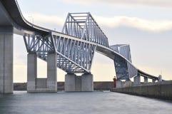 Pont en porte de Tokyo Image libre de droits