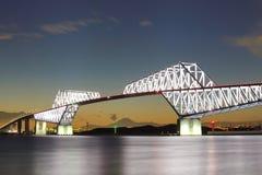 Pont en porte de Tokyo Image stock