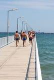 Pont en promenade Image libre de droits