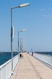 Pont en promenade Photos stock