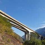 Pont en route Images libres de droits
