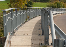 Pont en route Photos stock