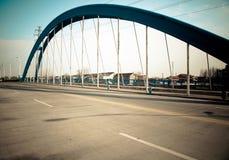 Pont en route Photos libres de droits