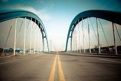 Pont en route images stock