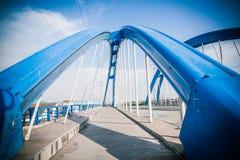 Pont en route Photographie stock