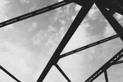 Pont en route dans Lesko image libre de droits