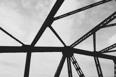 Pont en route dans Lesko Photos libres de droits
