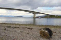 Pont en route de Skye Photos libres de droits