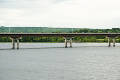 Pont en rue de Westmorland - Fredericton - Canada photographie stock libre de droits