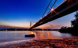 Pont en Serbie Photographie stock libre de droits