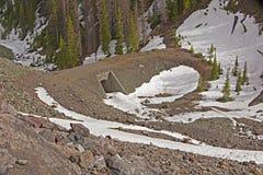 Pont en tire-bouchon dans Yellowstone Photos libres de droits