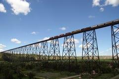 Pont en train Image stock