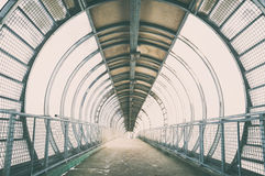 Pont en verre photos libres de droits