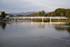 Pont en verre de Piestany Image libre de droits