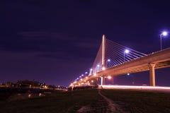 Pont en verre de Skyway de ville de vétérans photos libres de droits